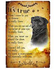 Pug - True Vertical Poster tile