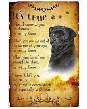 Pug - True 24x36 Poster front