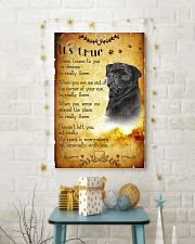 Pug - True 24x36 Poster lifestyle-holiday-poster-3