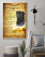 Pug - True 24x36 Poster lifestyle-poster-1