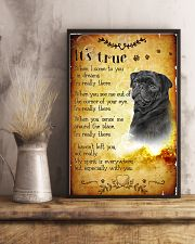 Pug - True 24x36 Poster lifestyle-poster-3