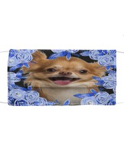 Chihuahua-02-Blue Mask Cloth face mask front