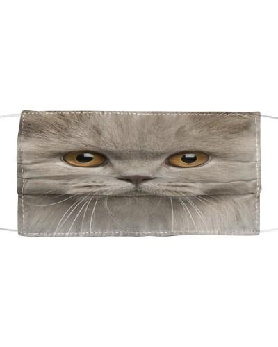 British Longhair Cat-Face Mask