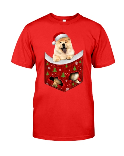 Chow Chow-Xmas-Pocket