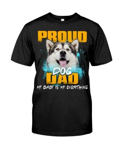 Alaskan Malamute-Proud Dog Dad