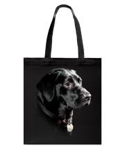 Labrador-Black - Only Face Tote Bag thumbnail