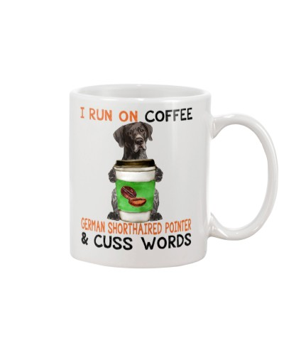 German Shorthaired Pointer-Coffee