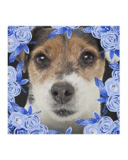 Parson Russell Terrier-Blue Mask Cloth face mask aos-face-mask-coverlet-lifestyle-front-02