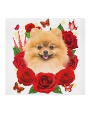 Pomeranian-Face Mask-Rose Cloth face mask aos-face-mask-coverlet-lifestyle-front-02