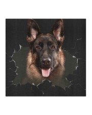 German Shepherd-02-Hole Crack Cloth face mask aos-face-mask-coverlet-lifestyle-front-02