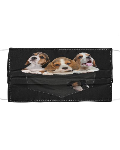 Beagle-Face Mask-Pocket
