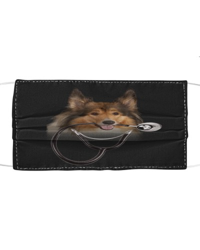 Rough Collie-Face Mask-Stethos