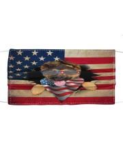 German Shepherd-US Mask Cloth face mask front