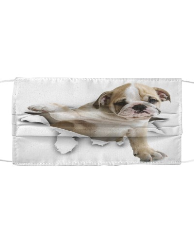 English Bulldog-Face Mask-Torn02