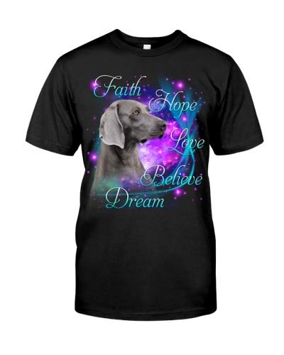 Weimaraner-Believe Dream