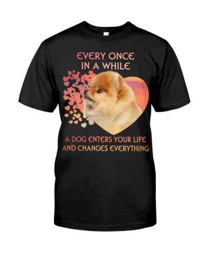 Pomeranian-Enters Your Life