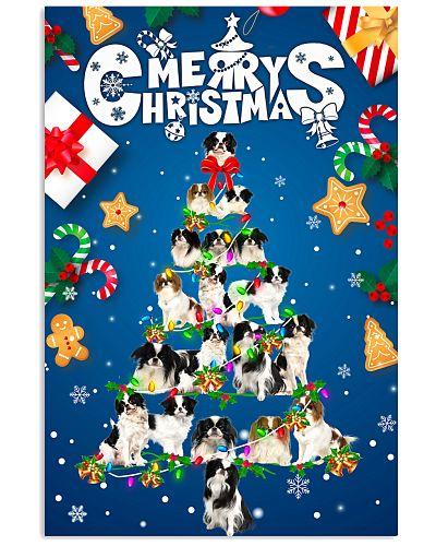 Japanese Chin-Merry Christmas