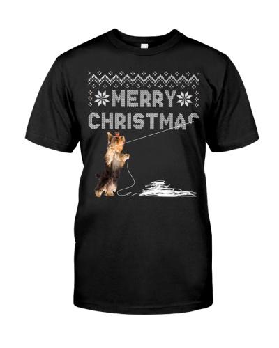 Yorkshire Terrier - Christmas
