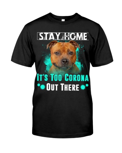 Staffordshire Bull Terrier-Stay Home