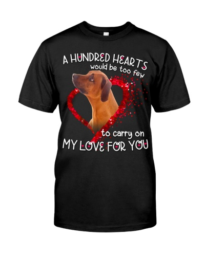 Rhodesian Ridgeback-Hundred Hearts