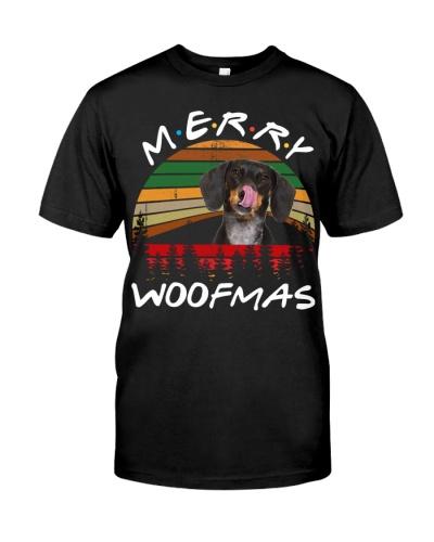 Dachshund-Merry Woofmas