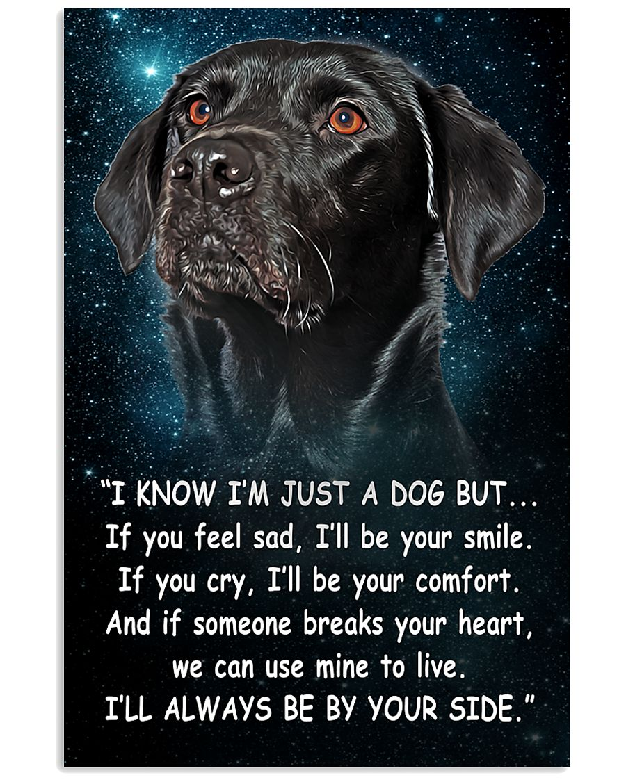Labrador - Your Side 24x36 Poster