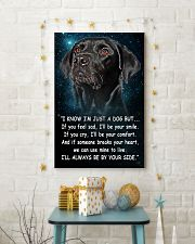 Labrador - Your Side 24x36 Poster lifestyle-holiday-poster-3