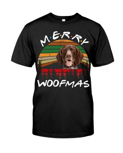 German Shorthaired Pointer-Merry Woofmas