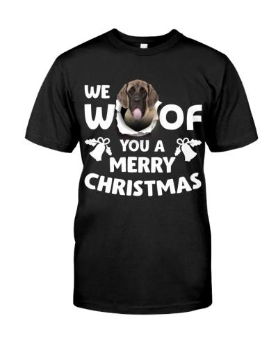 English Mastiff-Merry Xmas