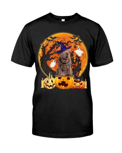 Shar Pei-Halloween