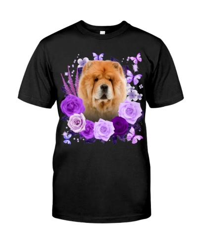 Chow Chow-Purple Flower