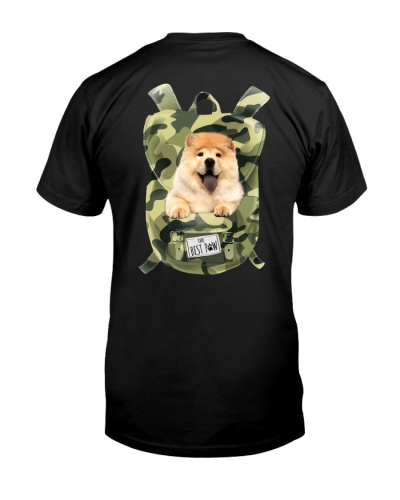 Chow Chow-Camo-Backpack