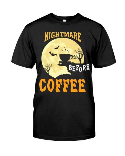Nightmare Before Coffee Halloween Funny