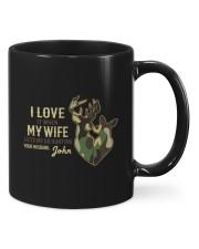 Custom Hunting Mug For Lovers Mug front