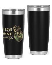 Custom Hunting Mug For Lovers 20oz Tumbler tile