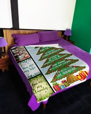 """Big present for this Christmas Large Fleece Blanket - 60"""" x 80"""" aos-coral-fleece-blanket-60x80-lifestyle-front-01"""