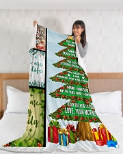 """Big present for this Christmas Large Fleece Blanket - 60"""" x 80"""" aos-coral-fleece-blanket-60x80-lifestyle-front-11"""