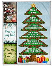 """Big present for this Christmas Large Fleece Blanket - 60"""" x 80"""" front"""