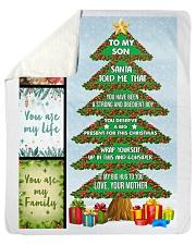 Big present for this Christmas Sherpa Fleece Blanket tile
