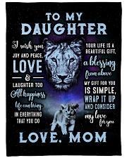 Joy and Peace - Lioness ver Fleece Blanket tile