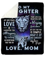 Joy and Peace - Lioness ver Sherpa Fleece Blanket tile