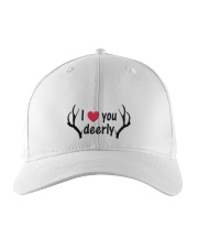 I LOVE YOU DEERLY Embroidered Hat front