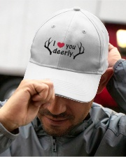 I LOVE YOU DEERLY Embroidered Hat garment-embroidery-hat-lifestyle-01
