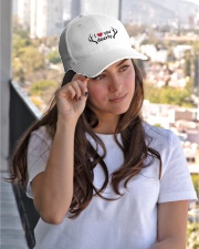 I LOVE YOU DEERLY Embroidered Hat garment-embroidery-hat-lifestyle-03