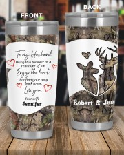Find your way back me - Custom Hunting gift 20oz Tumbler aos-20oz-tumbler-lifestyle-front-56