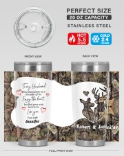 Find your way back me - Custom Hunting gift 20oz Tumbler aos-20oz-tumbler-lifestyle-front-60