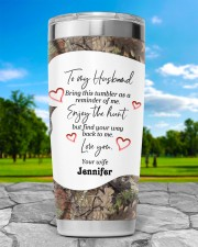 Find your way back me - Custom Hunting gift 20oz Tumbler aos-20oz-tumbler-lifestyle-front-61