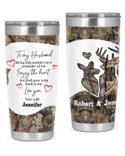 Find your way back me - Custom Hunting gift 20oz Tumbler front