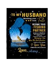 CUSTOM VALENTINE'S GIFT - YOUR FISHING PARTNER 2 Quilt tile