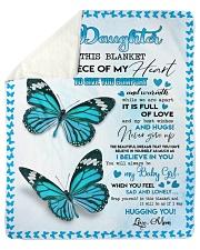 Believe in you - Daughter Sherpa Fleece Blanket tile
